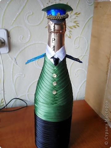 Гуляя по сайту, наткнулась на разные декорированные бутылочки и решила попробовать сделать похожие фото 2