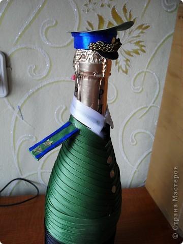 Гуляя по сайту, наткнулась на разные декорированные бутылочки и решила попробовать сделать похожие фото 3