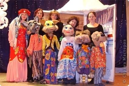 Куклы своими руками для кукольного театра мастер класс