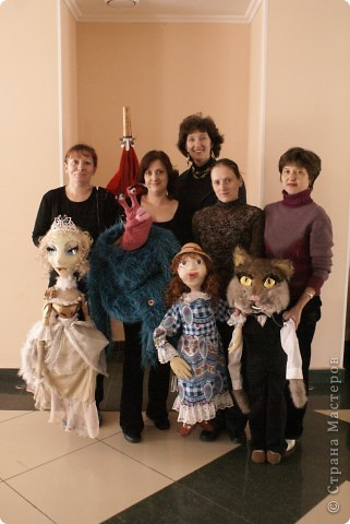 Куклы моего кукольного театра фото 3