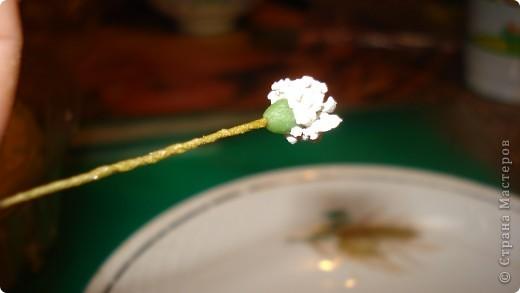Мастер-класс Флористика Лепка Гипсофила +малюсенький МК Фарфор холодный фото 6