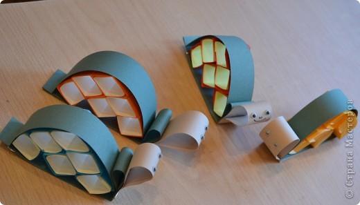 Продолжаем занятия в технике объемного моделирования. Для работы был предложе образ черепахи. фото 8