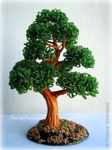Схемы деревьев из бисера