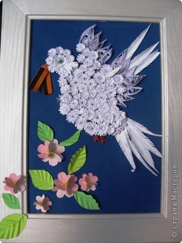 Поделки к 9 мая голуби