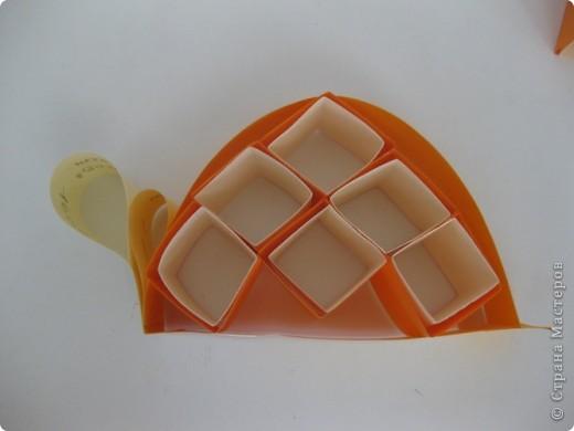 Продолжаем занятия в технике объемного моделирования. Для работы был предложе образ черепахи. фото 25