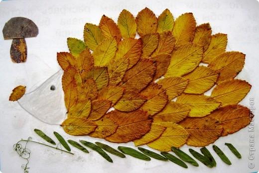 Поделки из листьев как их сделать