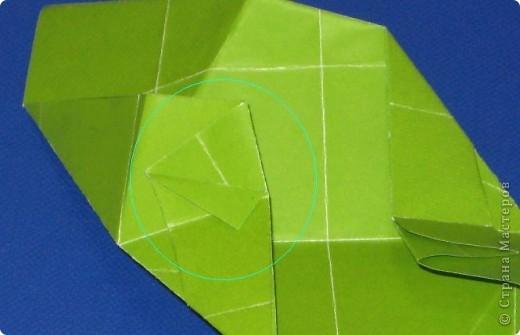 Привет! Я раньше показывала эту кусудаму, но в другом цвете: https://stranamasterov.ru/node/279143 Теперь у нее есть название.  Эльдорадо (El Dorado), автор: Валентина Минаева (Valentina Minayeva) 30 модулей + 30 вставок (можно без них) размер бумаги: 7,0 х 7,0 см в диаметре - 11 см фото 20