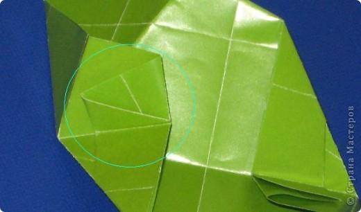 Привет! Я раньше показывала эту кусудаму, но в другом цвете: https://stranamasterov.ru/node/279143 Теперь у нее есть название.  Эльдорадо (El Dorado), автор: Валентина Минаева (Valentina Minayeva) 30 модулей + 30 вставок (можно без них) размер бумаги: 7,0 х 7,0 см в диаметре - 11 см фото 21