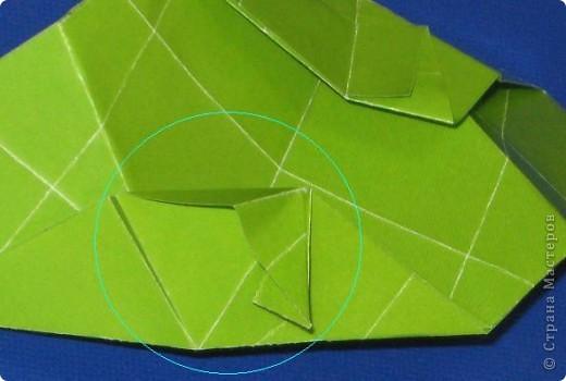 Привет! Я раньше показывала эту кусудаму, но в другом цвете: https://stranamasterov.ru/node/279143 Теперь у нее есть название.  Эльдорадо (El Dorado), автор: Валентина Минаева (Valentina Minayeva) 30 модулей + 30 вставок (можно без них) размер бумаги: 7,0 х 7,0 см в диаметре - 11 см фото 22