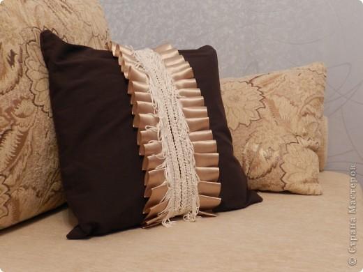 Декоративная подушка фото 3