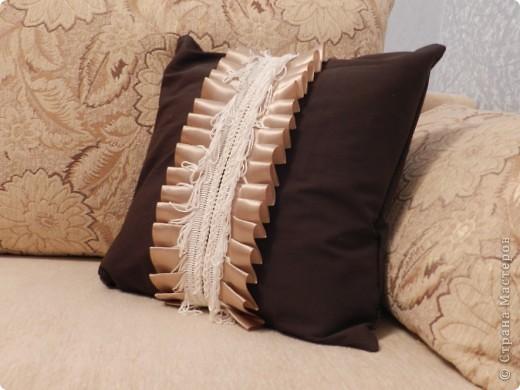 Декоративная подушка фото 4