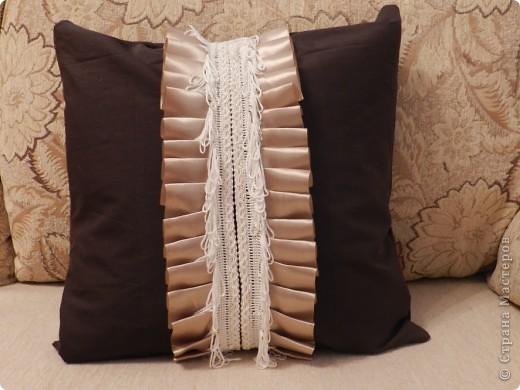 Декоративная подушка фото 5