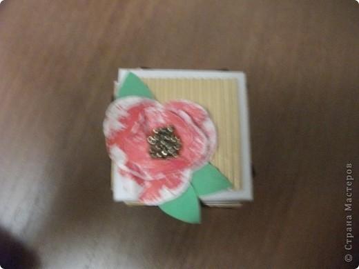 Теперь и я сделала коробочку с сюрпризом))) Планирую подарить ее маме. фото 2