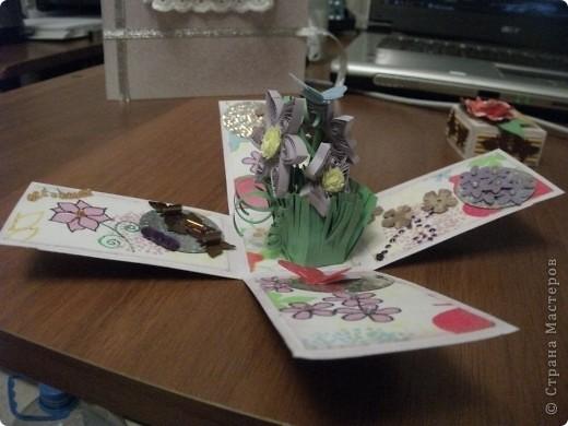 Теперь и я сделала коробочку с сюрпризом))) Планирую подарить ее маме. фото 3