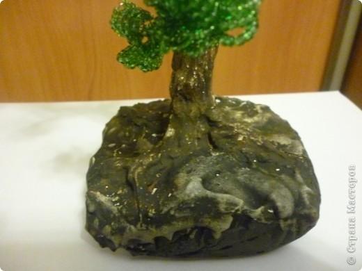 Это моё первое дерево из бисера. фото 3