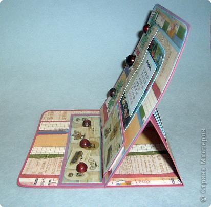 Насмотрелась я у Аннушки Демаковой красивых открыток, до сих пор любуюсь ее подаренным календарем, миниальбомчиком (длЯ племянницы), конвертиком для диска.... и захотелось попробовать самой. А тут вроде как и повод есть-23 февраля, сыну нужно же сделать подарок... Вот так и родилось то,что вы видите... фото 2