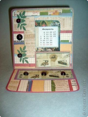 Насмотрелась я у Аннушки Демаковой красивых открыток, до сих пор любуюсь ее подаренным календарем, миниальбомчиком (длЯ племянницы), конвертиком для диска.... и захотелось попробовать самой. А тут вроде как и повод есть-23 февраля, сыну нужно же сделать подарок... Вот так и родилось то,что вы видите... фото 1
