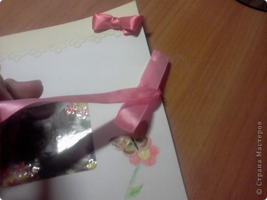 В дополнение ко всем подаркам своей любимой подружке, их можно посмотреть в моем блоге, я решила сделать открытку! Так как Марише только 9 лет, то я сделала легкую детскую открыточку))) фото 2
