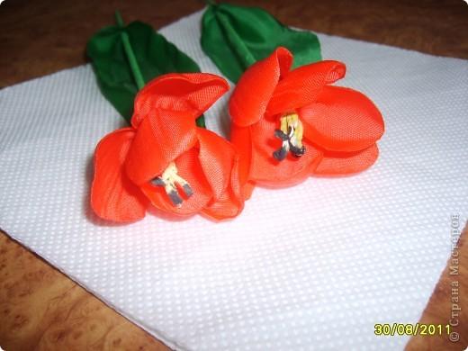 Шёлковый тюльпан МК фото 12