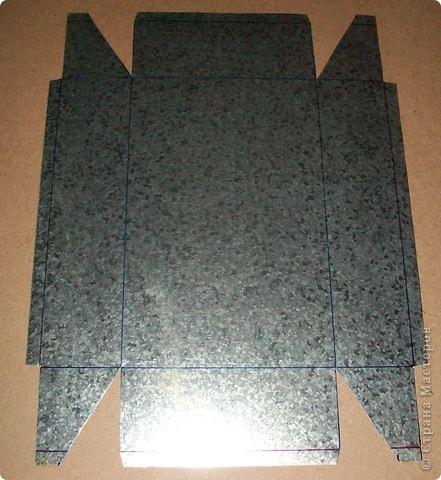 Сделать коробок своими руками из картона ни для кого не представляет серьезных трудностей. Немного посложней работать с оцинкованным железом, но коробок для себя можно сделать. Несколько слов об оцинкованном железе.  Продается часто в строительных магазинах размерами 1000мм х 2000мм, толщиной 0,35 мм. по цене 80-100 гривень за лист.  фото 10
