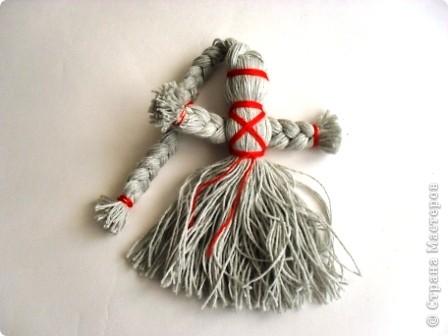Кукла оберег из льна