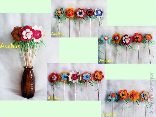 Готовлюсь к 8 марта ))))  Нашила украшений для цветочных горшков из флиса для коллег. Все разные. фото 7