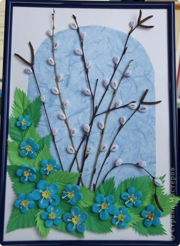 Картина о весне своими руками - Automee-s.ru