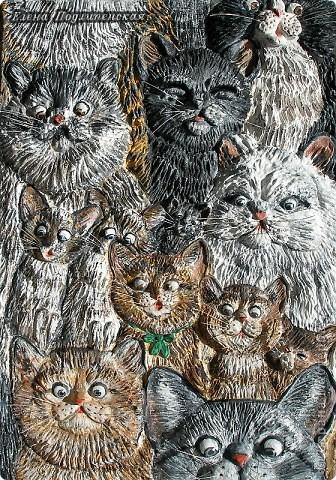 ах как много на свете кошек: