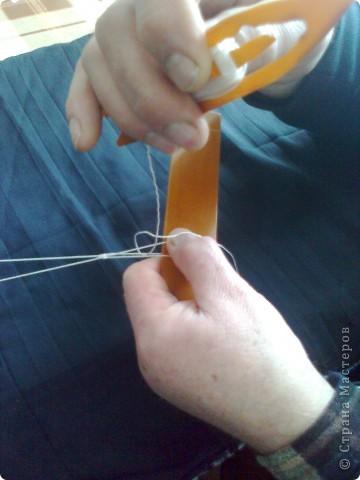 Сеть сплетена из капроновой нити. фото 19