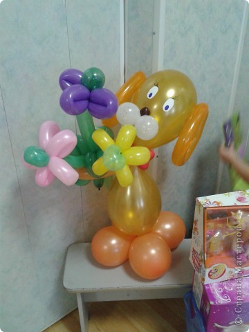 Поделки из шаров воздушных своими руками
