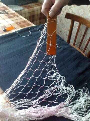 Плетение рыболовных сетей