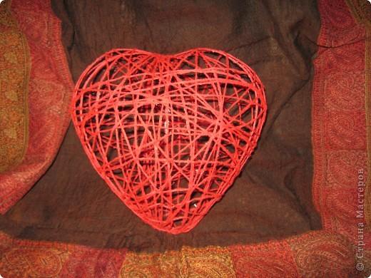 "Плетение - Сердечко-2 "" Поиск мастер классов, поделок своими руками и рукоделия на SearchMasterclass.Net"