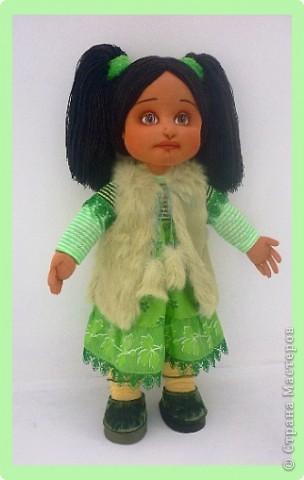 Алиса - авторская текстильная кукла. Сделана из винтажного, очень крепкого трикотажа. Рост 50 см. фото 3