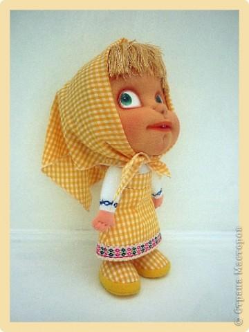 Алиса - авторская текстильная кукла. Сделана из винтажного, очень крепкого трикотажа. Рост 50 см. фото 5