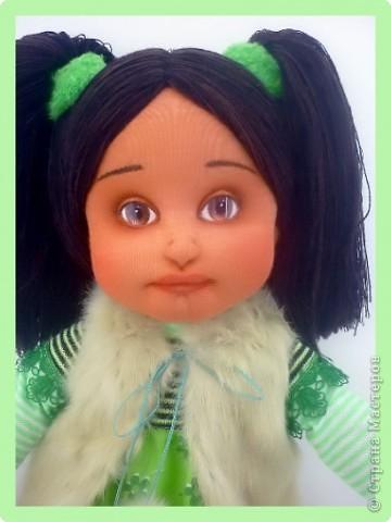 Алиса - авторская текстильная кукла. Сделана из винтажного, очень крепкого трикотажа. Рост 50 см. фото 4