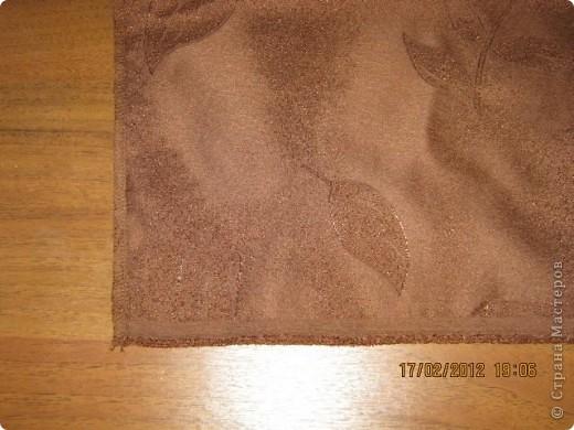 Мастер-класс Шитьё Круглая подушка с буфами МК Ткань фото 2