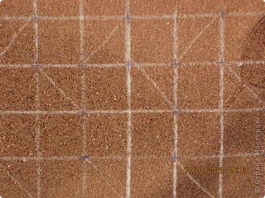 Мастер-класс Шитьё Круглая подушка с буфами МК Ткань фото 5