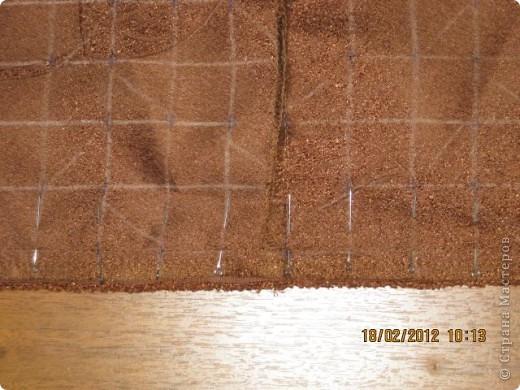 Мастер-класс Шитьё Круглая подушка с буфами МК Ткань фото 6