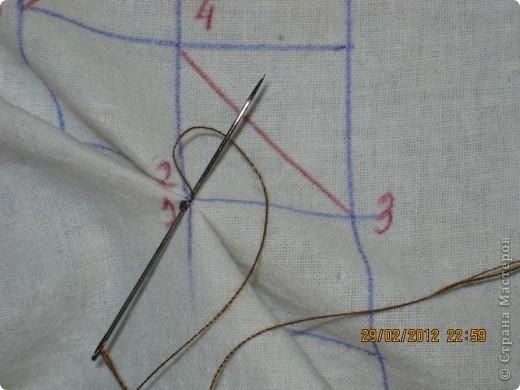 Мастер-класс Шитьё Круглая подушка с буфами МК Ткань фото 11