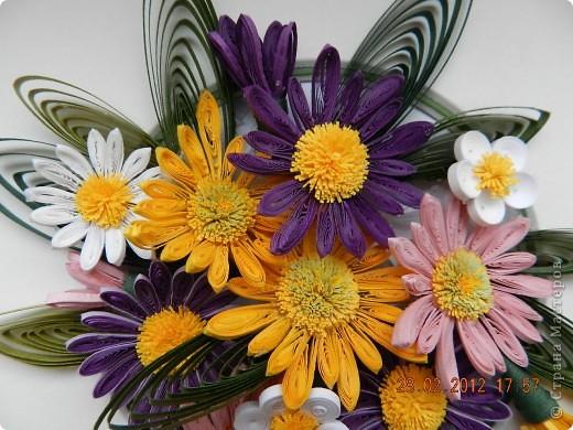 Цветы на 8 марта горшки бумажные