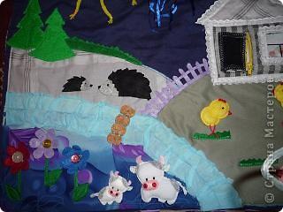 вот такой коврик я пошила для доченьки. Солнечная сторона. фото 10