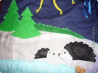 вот такой коврик я пошила для доченьки. Солнечная сторона. фото 13