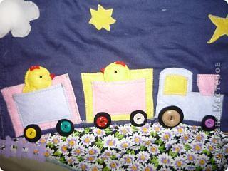 вот такой коврик я пошила для доченьки. Солнечная сторона. фото 17