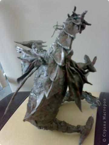 Дракоша (декор на бутылку) фото 3