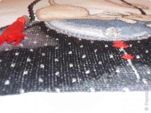 """""""Кошка на черной сумке"""" от Design Works фото 5"""