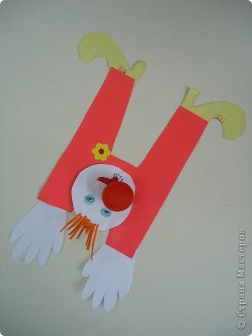 Клоуны-акробаты фото 5