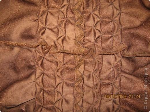 Мастер-класс Шитьё Круглая подушка с буфами МК Ткань фото 19