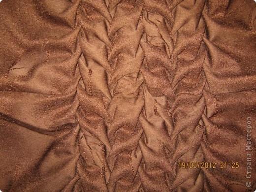 Мастер-класс Шитьё Круглая подушка с буфами МК Ткань фото 20