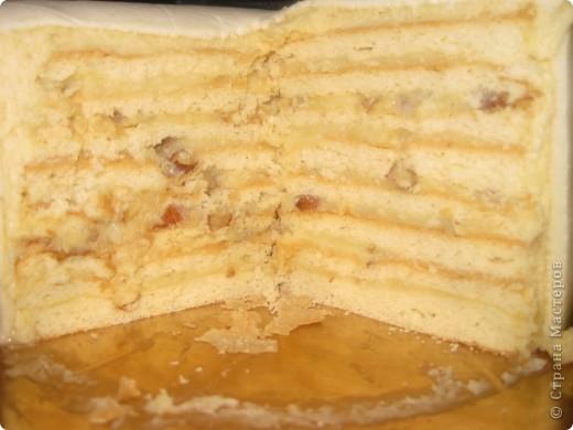 Такой вот тортик, оформленный на скорую руку, сделала я, когда мы собрались в гости фото 2