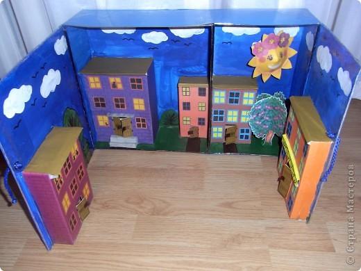 Как сделать макет школы из картона для детей своими руками